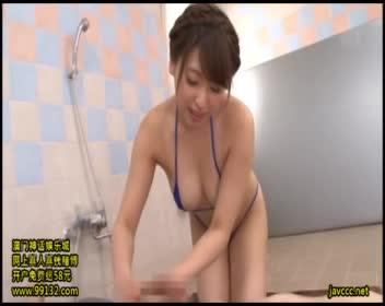 ぬるぬるローションプレイで童貞くん暴発射精!秋山祥子